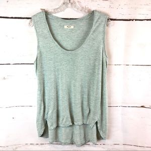 Madewell | High-Low Muscle Tee, Size L